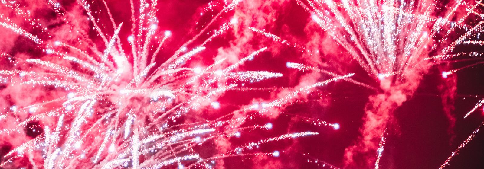 Fireworks image slide