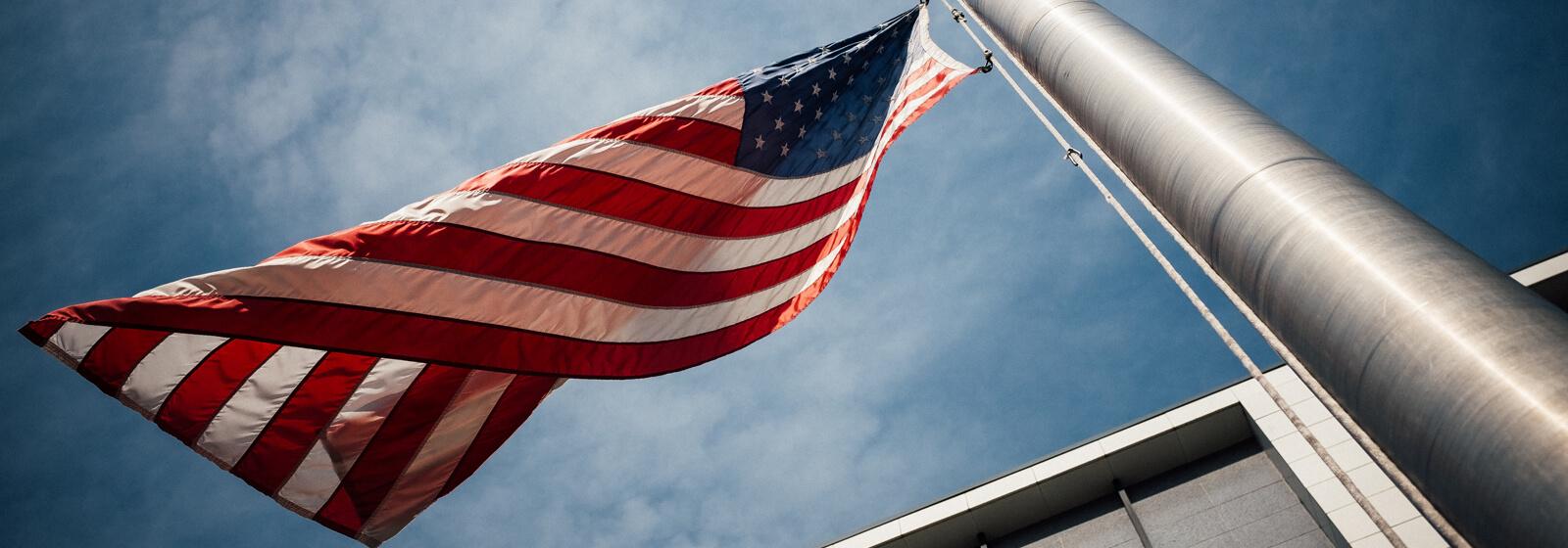 Flag image slide